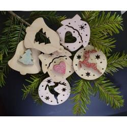 Set decoratiuni Craciun Joy