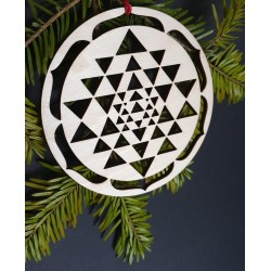 Decoratiune Sri Yantra