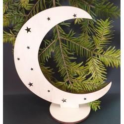 Decoratiune Luna cu suport