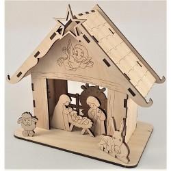 Puzzle 3D Betlehem